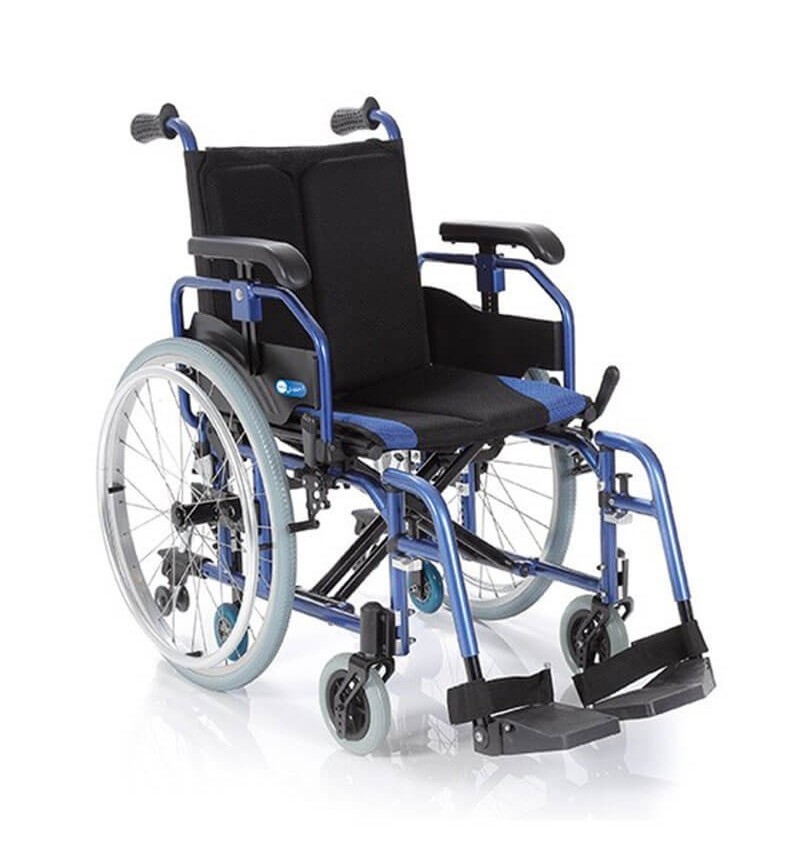 Carucior cu rotile pliabil din aluminiu, actionare manuala - CP760 Helios 2