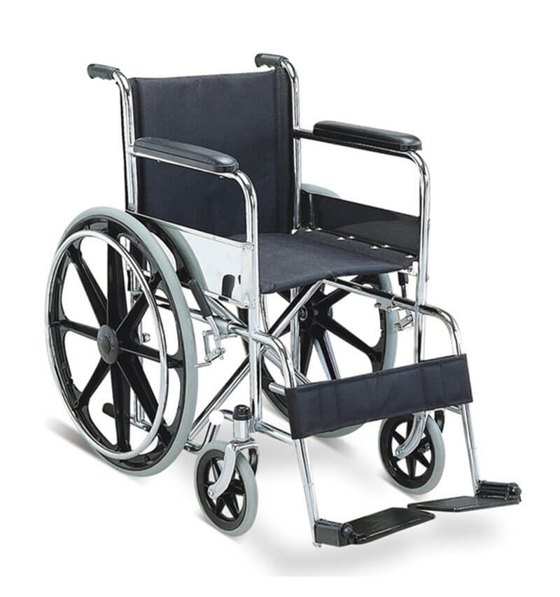 Carucior cu rotile, transport pacienti, actionare manuala - FS809B