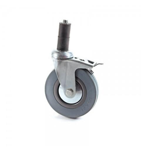Kit 4 roti cu frana diametru 12,5 cm - MPR050