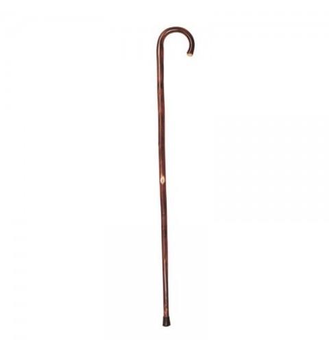 Baston din lemn cu maner curb pentru femei - RP122