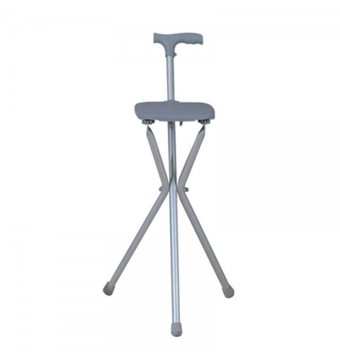Baston cu scaun pliabil (inaltime 80 cm) - FS940L
