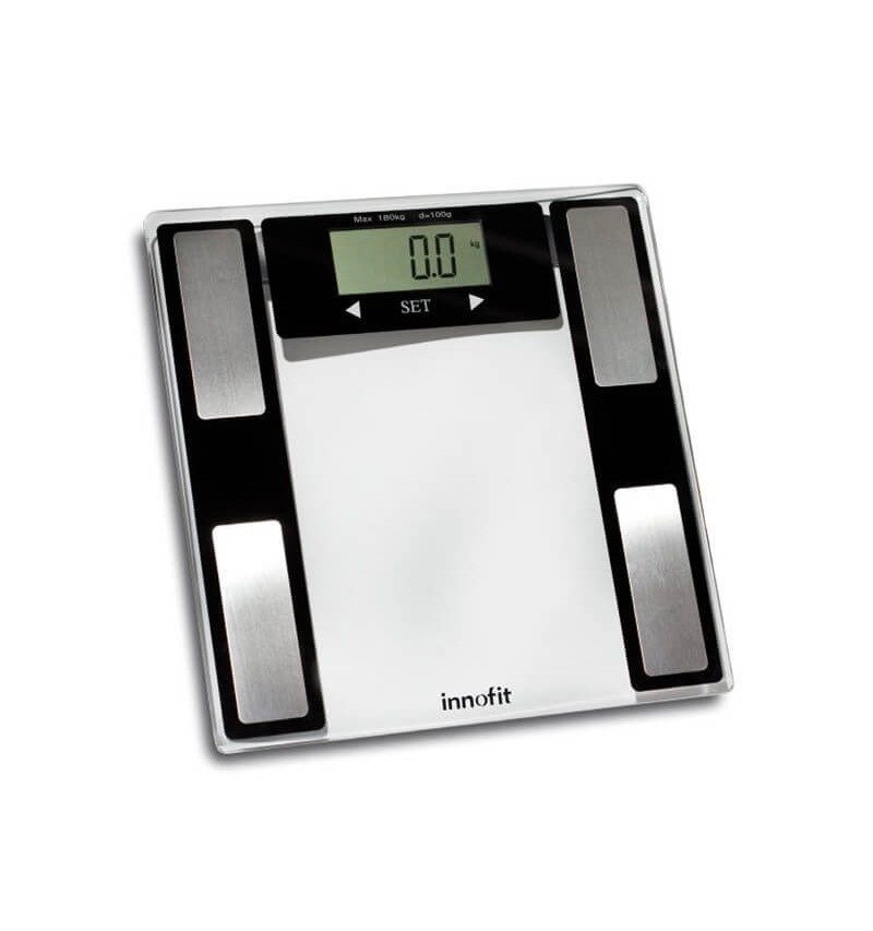 Cantar electronic ultraslim cu masurare nivel apa si grasime 180 kg INN-112