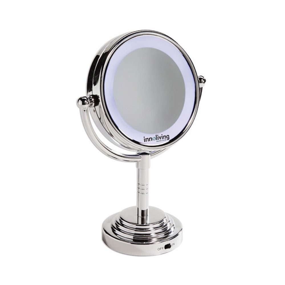 Oglina luminoasa fata-verso pentru machiaj perfect INN-029