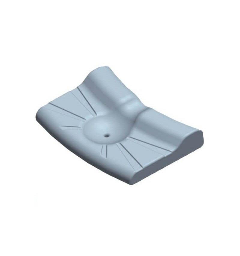 Perna ortopedica din spuma cu memorie - AT03001