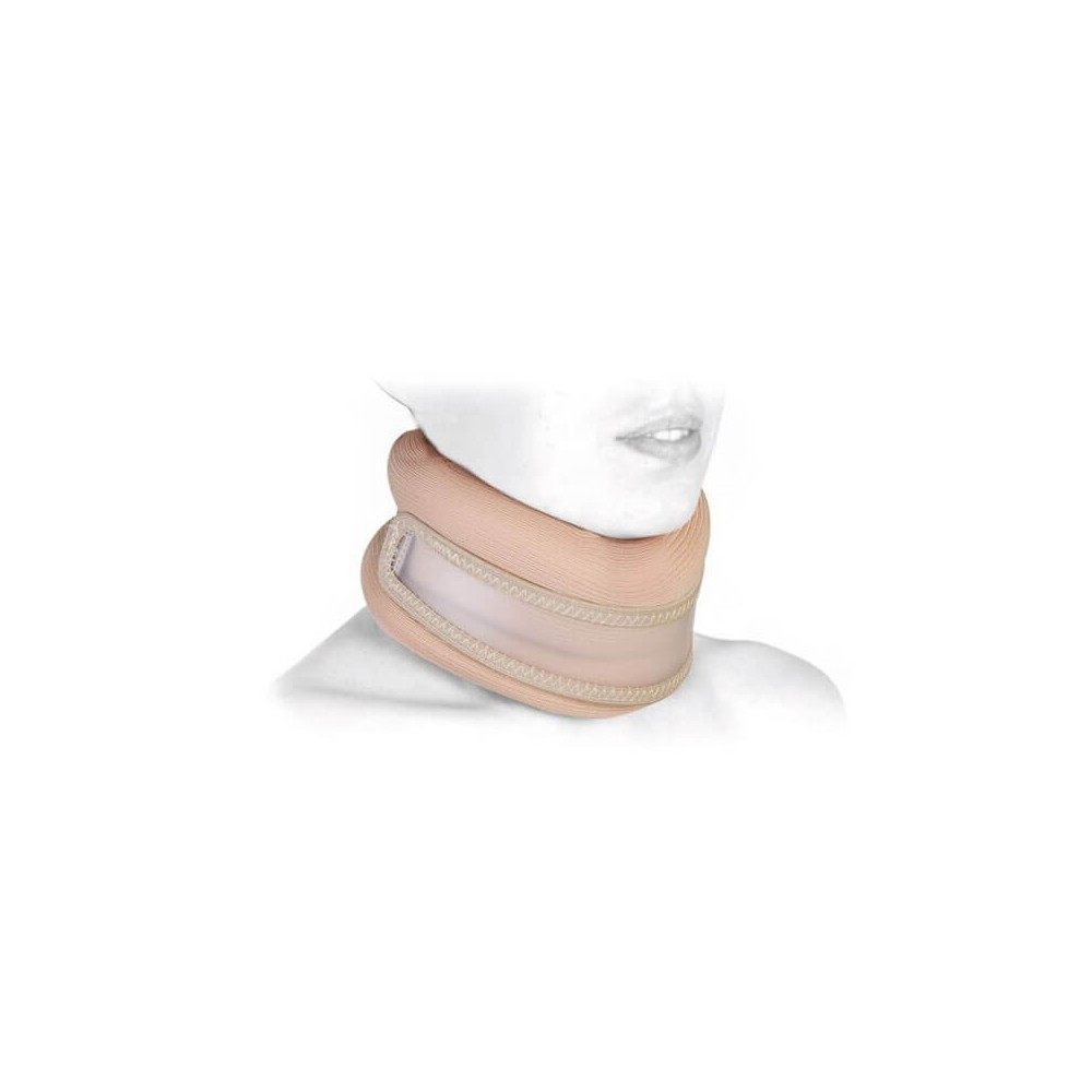 Guler cervical semi rigid cu insertie de plastic - RP184
