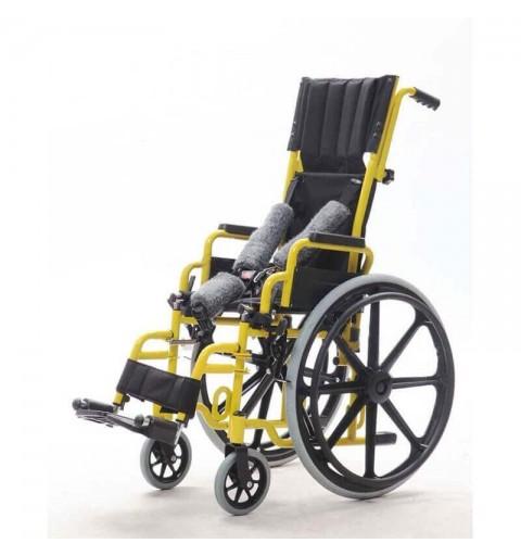 Carucior cu rotile pediatric cu tetiera, transport copii - YJ-013E