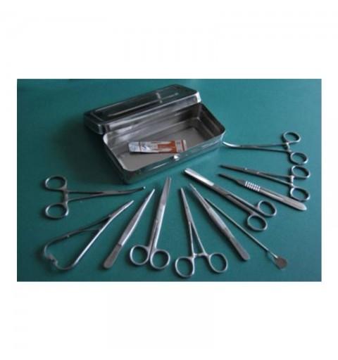 Trusa mica chirurgie Economy, 18 cm, inox