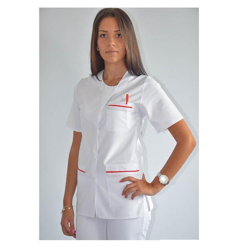 Bluza asimetrica cu capse - CM07