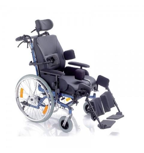 Carucior cu rotile multipozabil, cu actionare manuala, metal vopsit - CP910