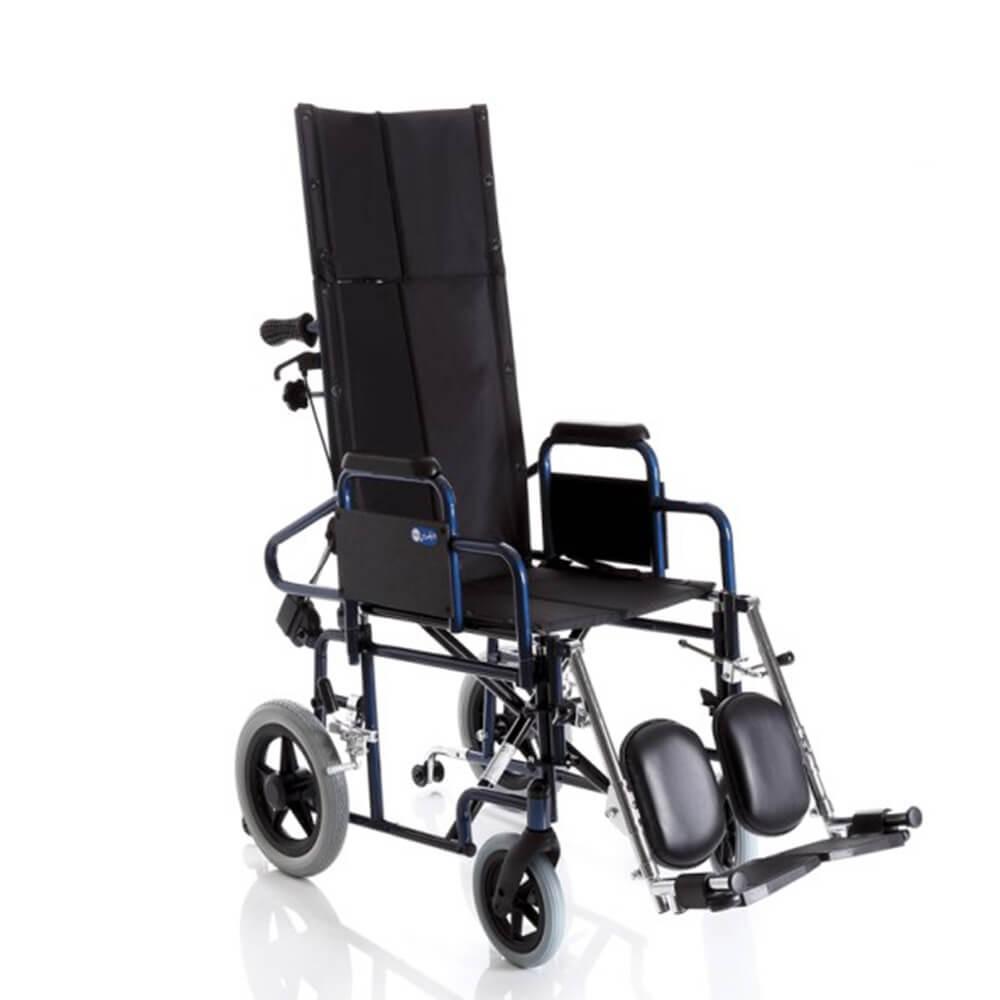 Carucior cu rotile pliabil transport pacienti, tip tranzit - CP805