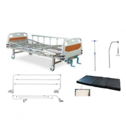 Pat de spital mecanic cu 2 manivele - XHS20E-G