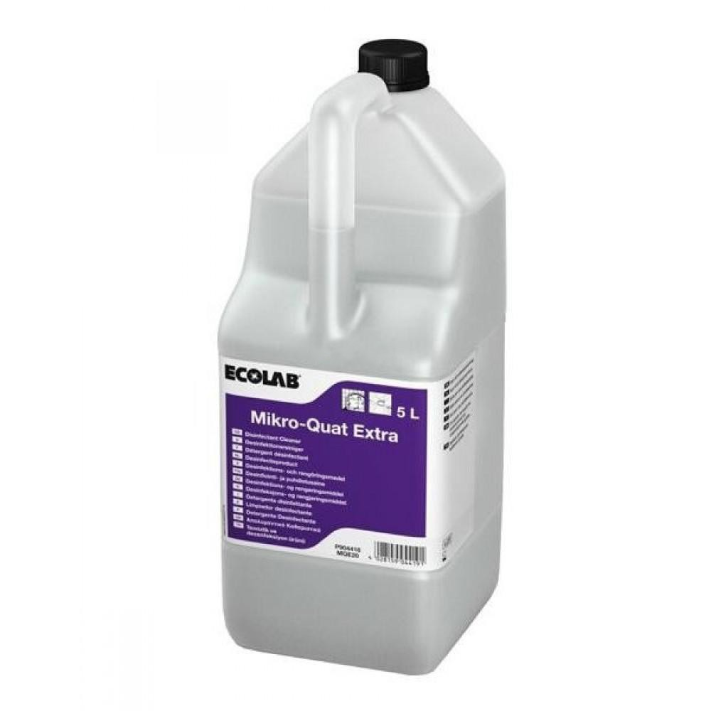 Detergent dezinfectant Mikro-Quat Extra, bactericid si fungicid, 5L