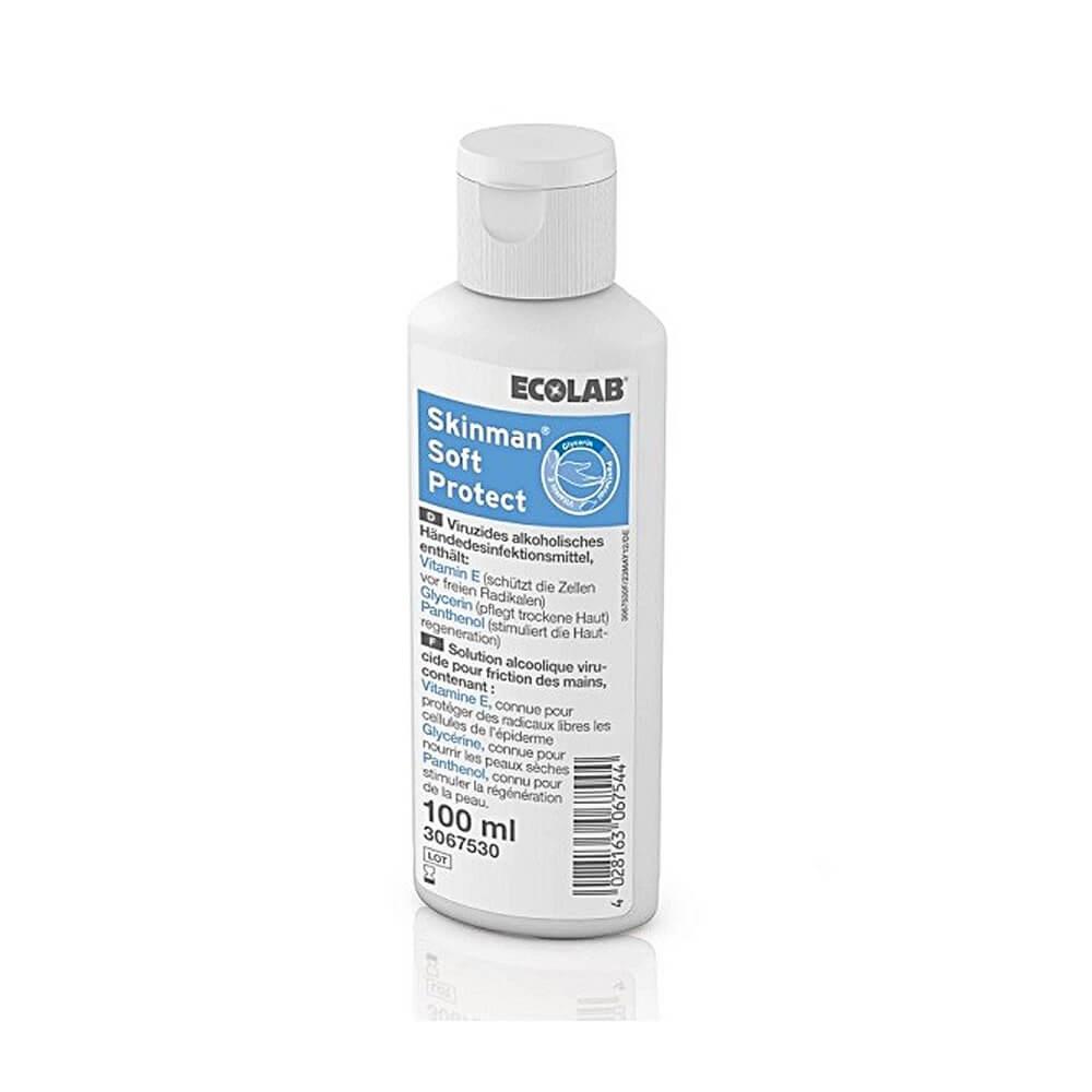 Dezinfectant lichid pentru maini Skinman Soft Protect, 100ml