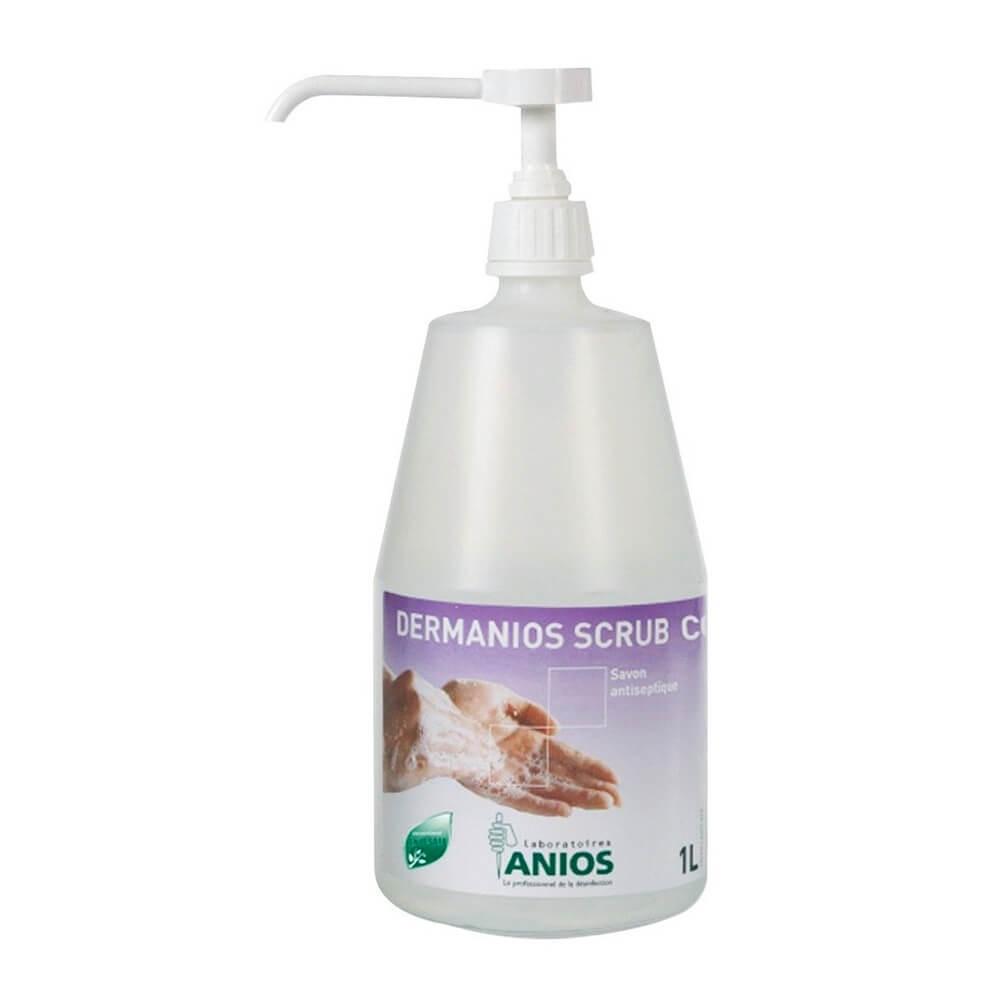 Sapun antiseptic pentru spalarea igienica a mainilor - Dermanios Scrub CG