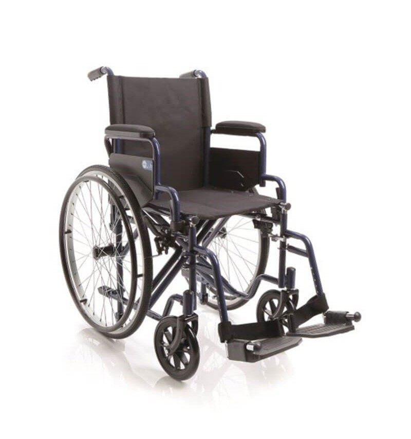 Carucior cu rotile pliabil transport pacienti, actionare manuala - CP110 Next