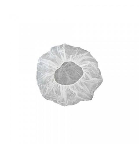 Bonete albe de unica folosinta, 100 buc/set