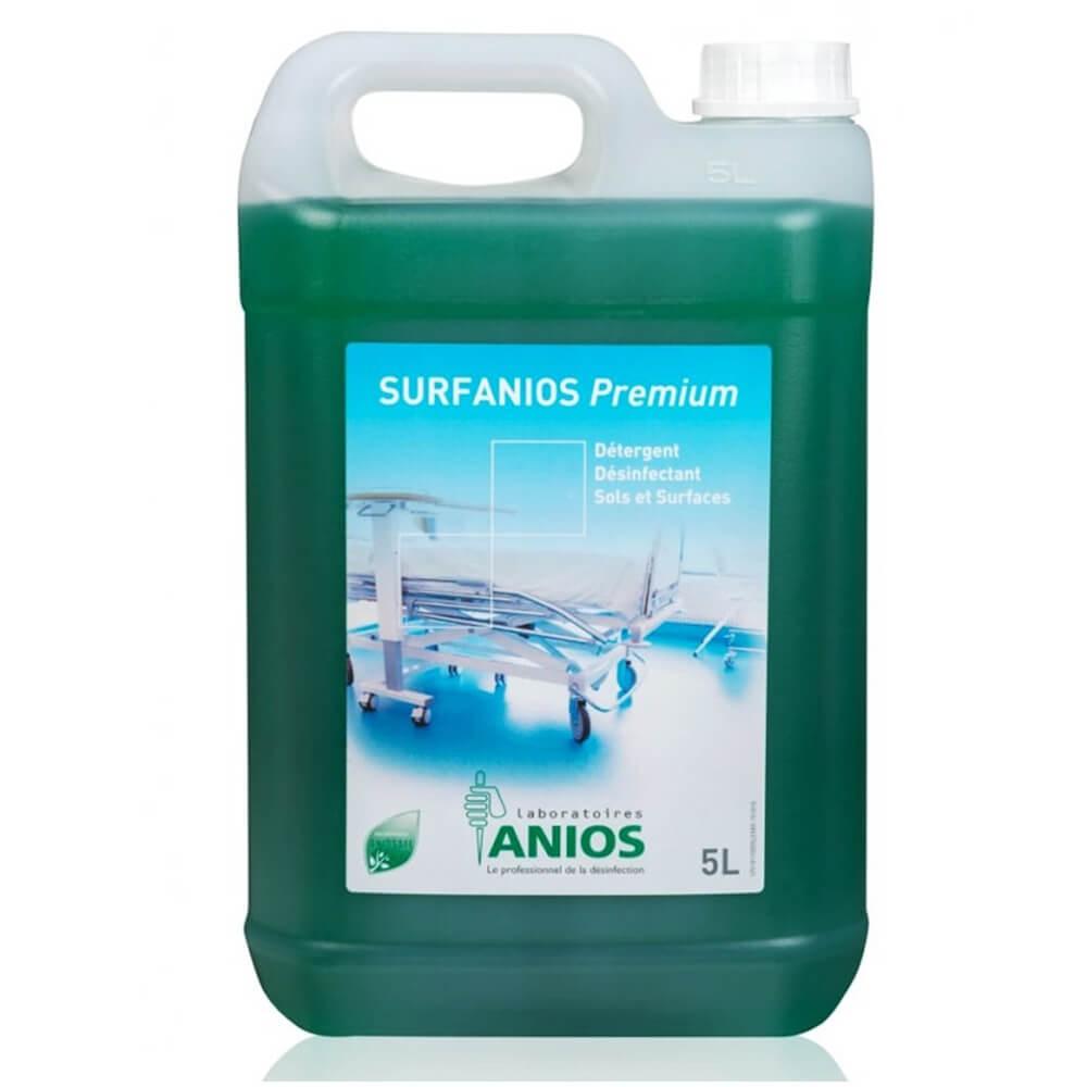 Dezinfectant detergent pentru pavimente, suprafete si dispozitive medicale - SURFANIOS PREMIUM, 5L
