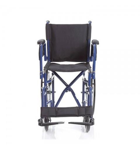 Carucior cu rotile pliabil transport pacienti, actionare manuala - CP620 Skinny