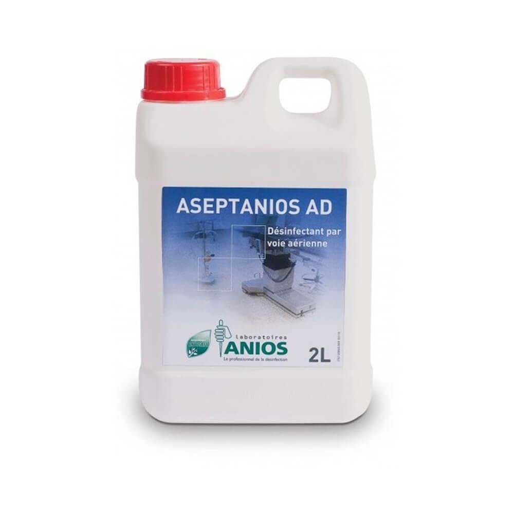 Dezinfectant pentru aeromicroflora, suprafete si dispozitive medicale pe cale aeriana - ASEPTANIOS A