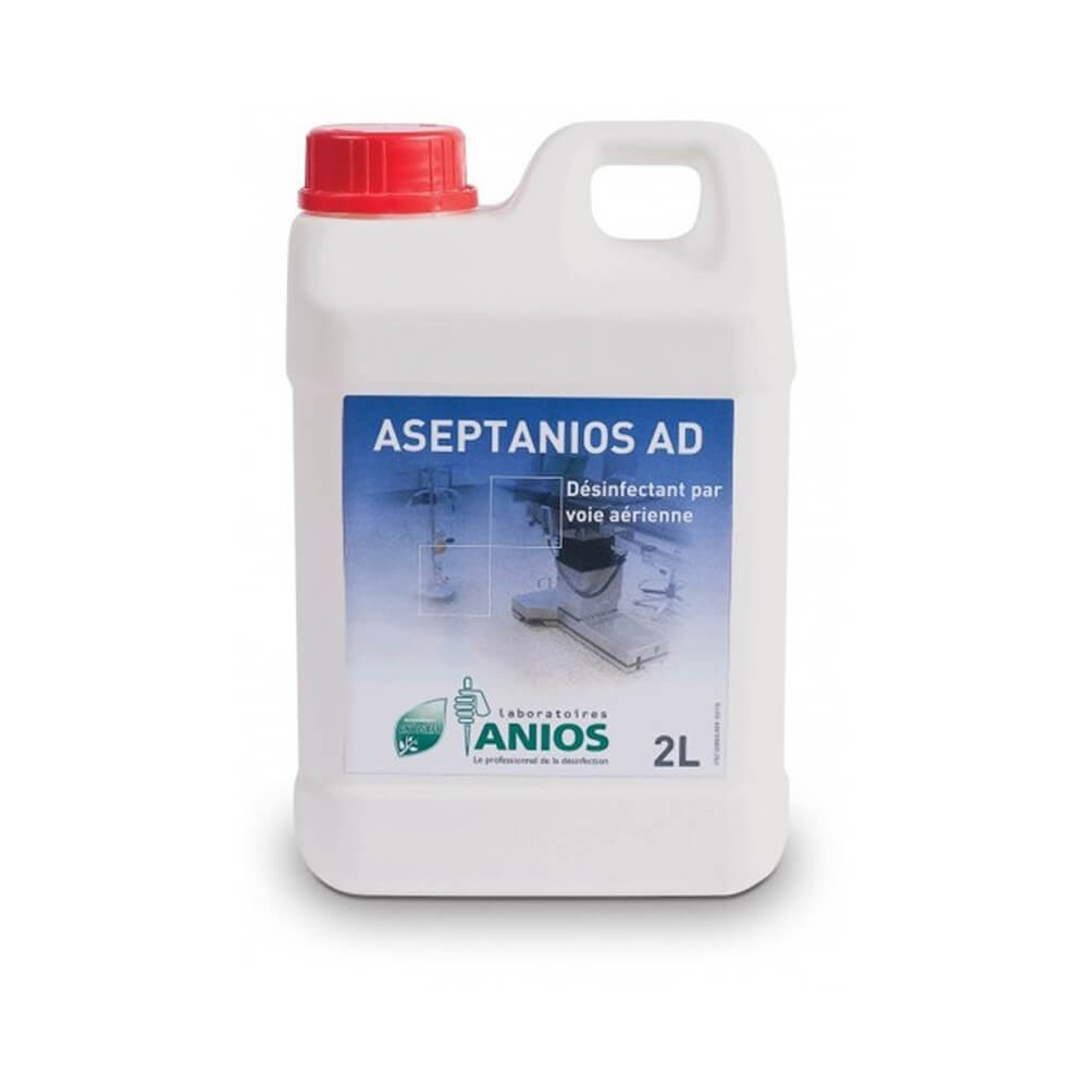 Dezinfectant pentru aeromicroflora, suprafete si dispozitive medicale pe cale aeriana - ASEPTANIOS AD, 2L