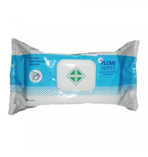 Servetele dezinfectante Flow Wipes Fresh, 100 buc.