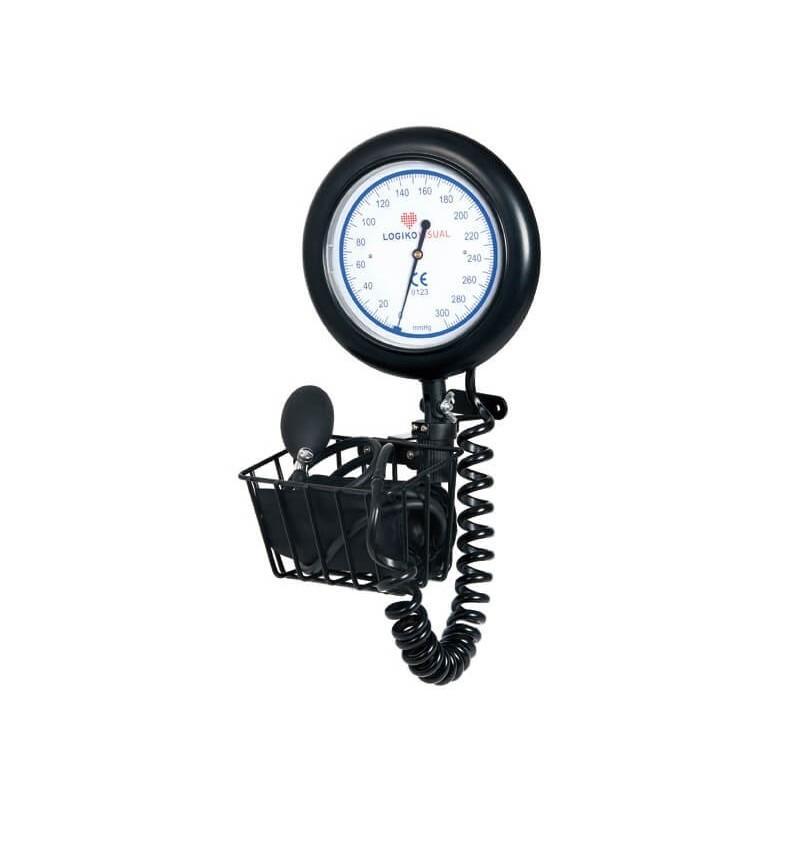 Tensiometru mecanic cu cadran MORETTI cu suport pentru manseta- DM361