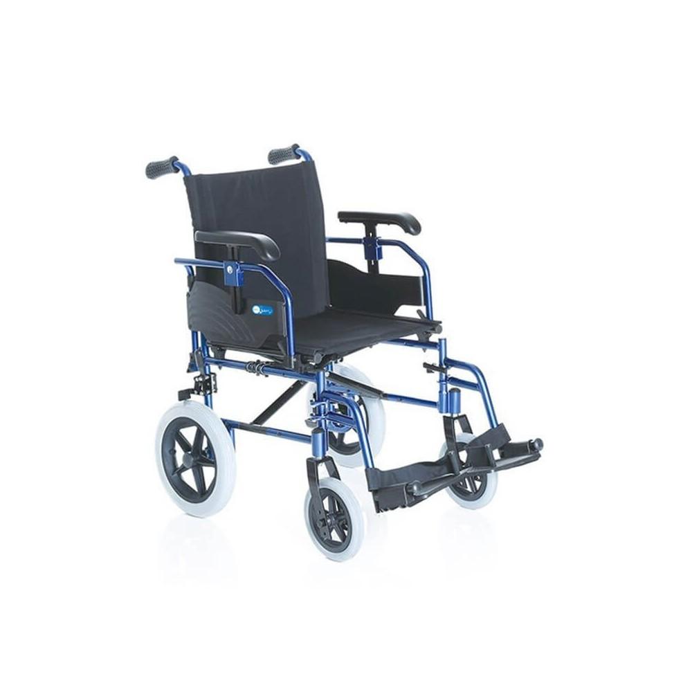 Carucior cu rotile pliabil din aluminiu, tip tranzit - CP735 Helios Go