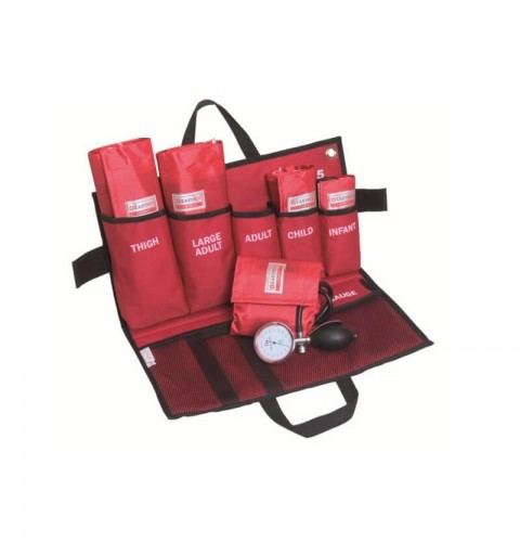 Kit de urgenta tensiometru aneroid mecanic MORETTI- EM905