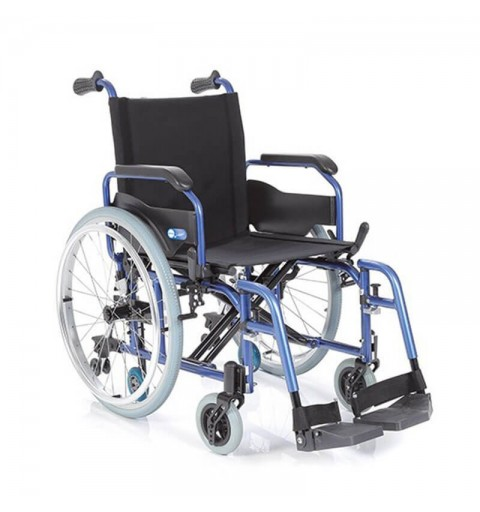 Carucior cu rotile pliabil din aluminiu, actionare manuala - CP750 Helios 1