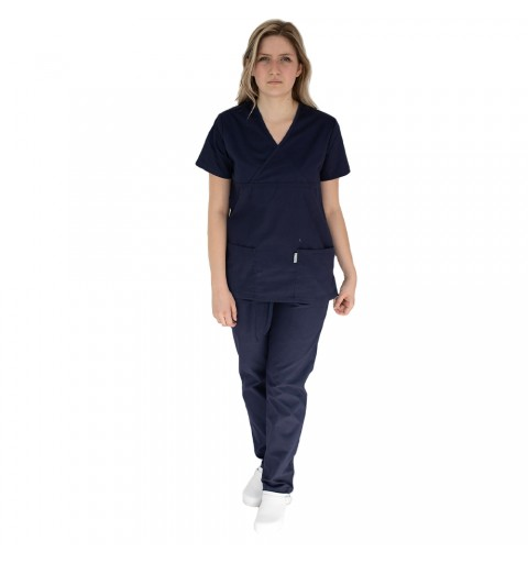Costum medical femei, Lotus 2, 8073 bleumarin