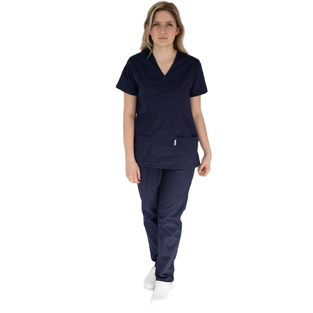 Costum medical femei, Lotus 2, 8073 bleumarin