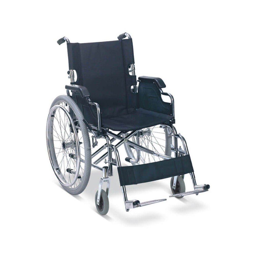 Carucior cu rotile, maner pe doua nivele, actionare manuala - FS908AQ-46