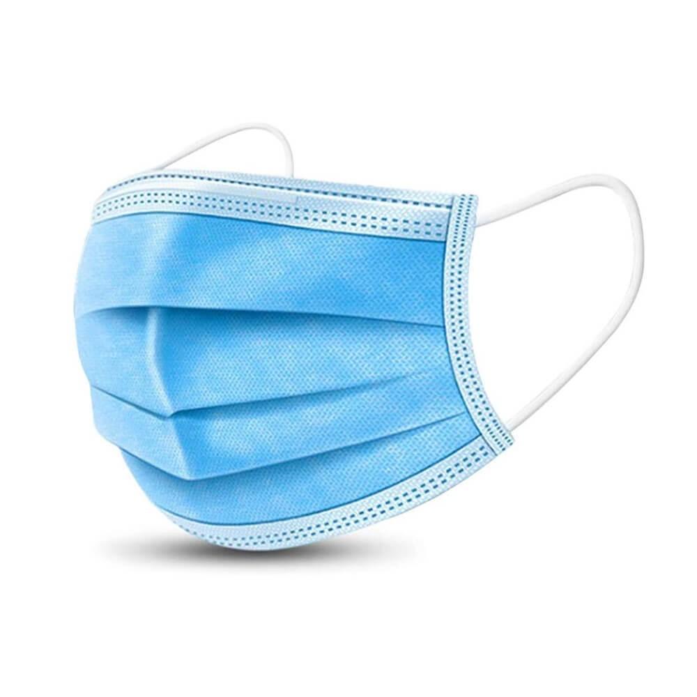 Masca chirurgicala de unica folosinta 3 straturi, 3 pliuri, set 50 buc.