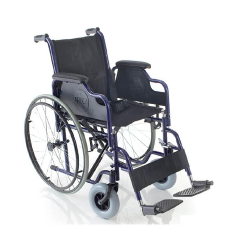 Carucior cu rotile, din otel vopsit, actionare manuala - CB110