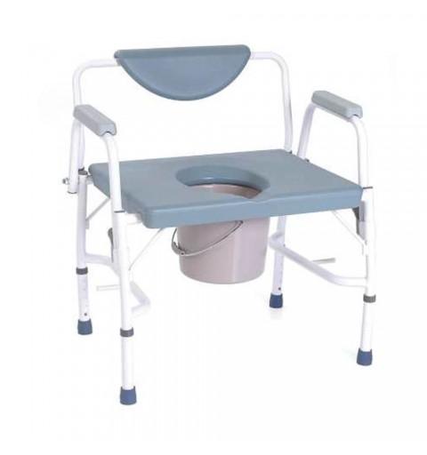 Scaun WC de camera 4 in 1, pentru persoane supraponderale - RH780