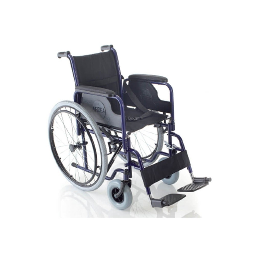 Carucior cu rotile pliabil, din otel vopsit, actionare manuala - CB120