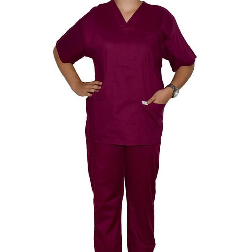 Costum medical Lotus MFTL, visiniu