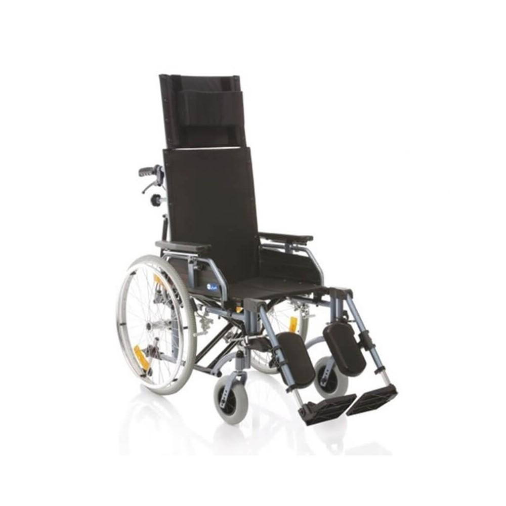 Carucior cu rotile pliabil cu structura din aluminiu vopsit - CP810