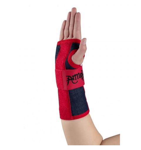 Orteza lunga cu atela pentru articulatia mainii, din jeans Armor - ARJ19