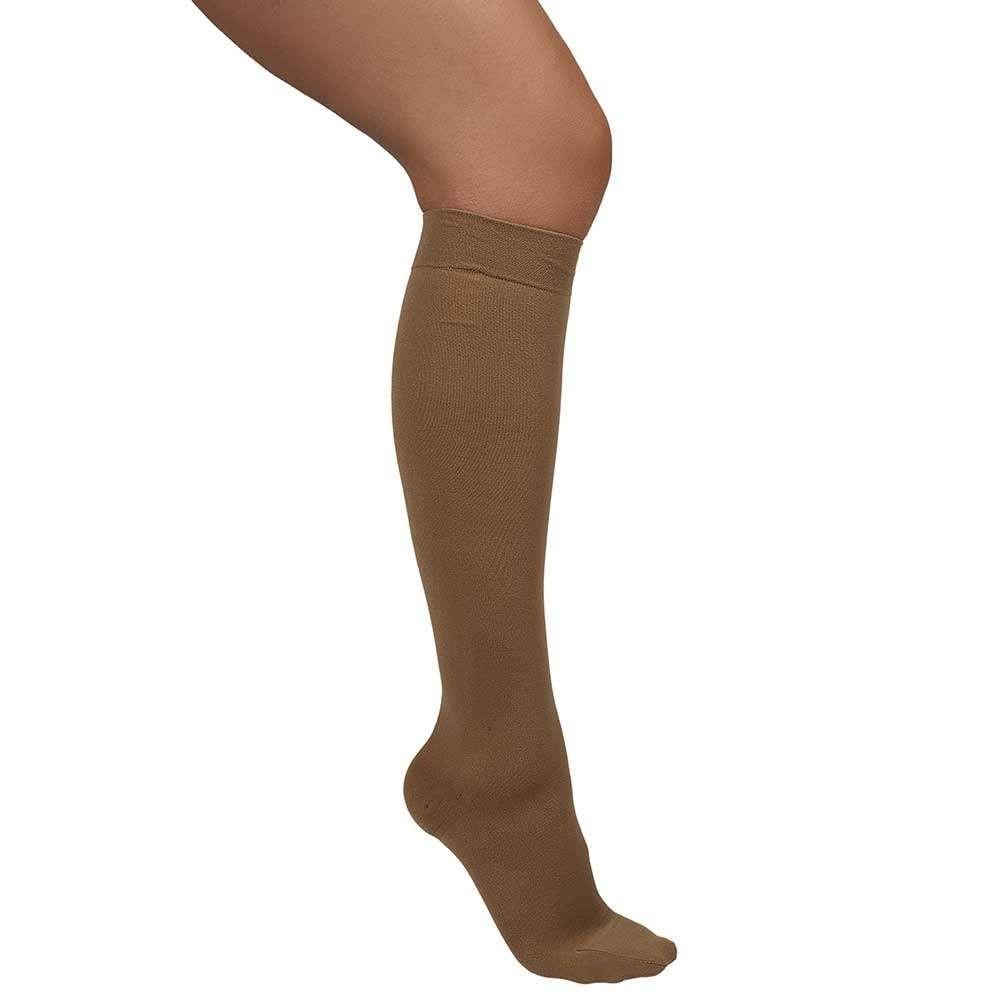 Ciorapi medicali pana la genunchi, cu varf inchis, 15-18 mmHg - ARS13A