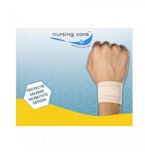 Orteza elastica pentru incheietura mainii, bej - I7836171