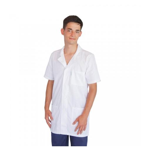 Bluza alba cu rever, pentru...