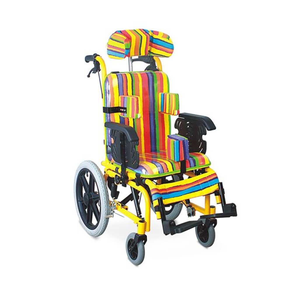 Carucior cu rotile multipozabil, transport copii - FS985LBGY