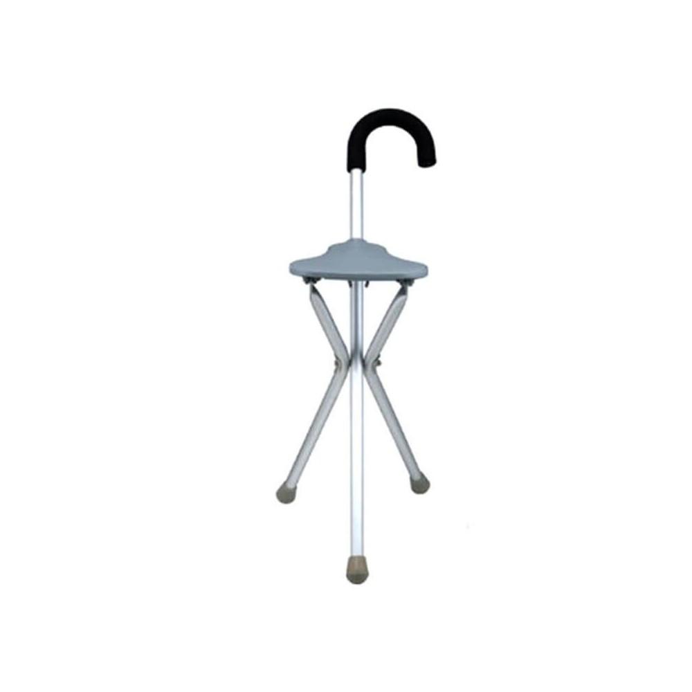 Baston cu scaun pliabil, maner curbat - FS945L