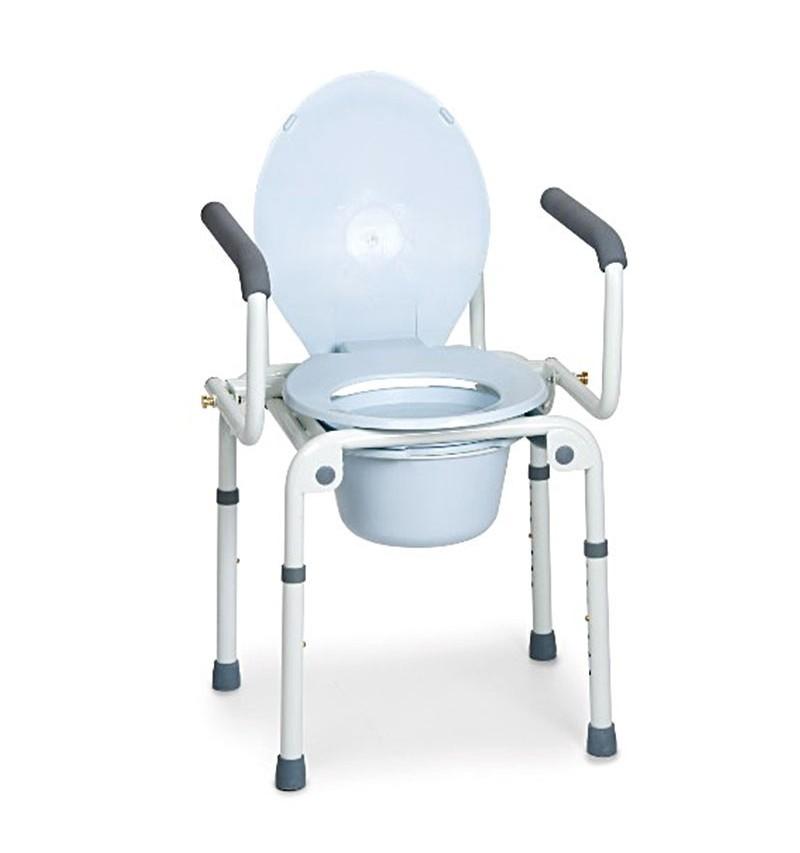 Scaun WC de camera cu maner, functie 4 in 1 - RP783