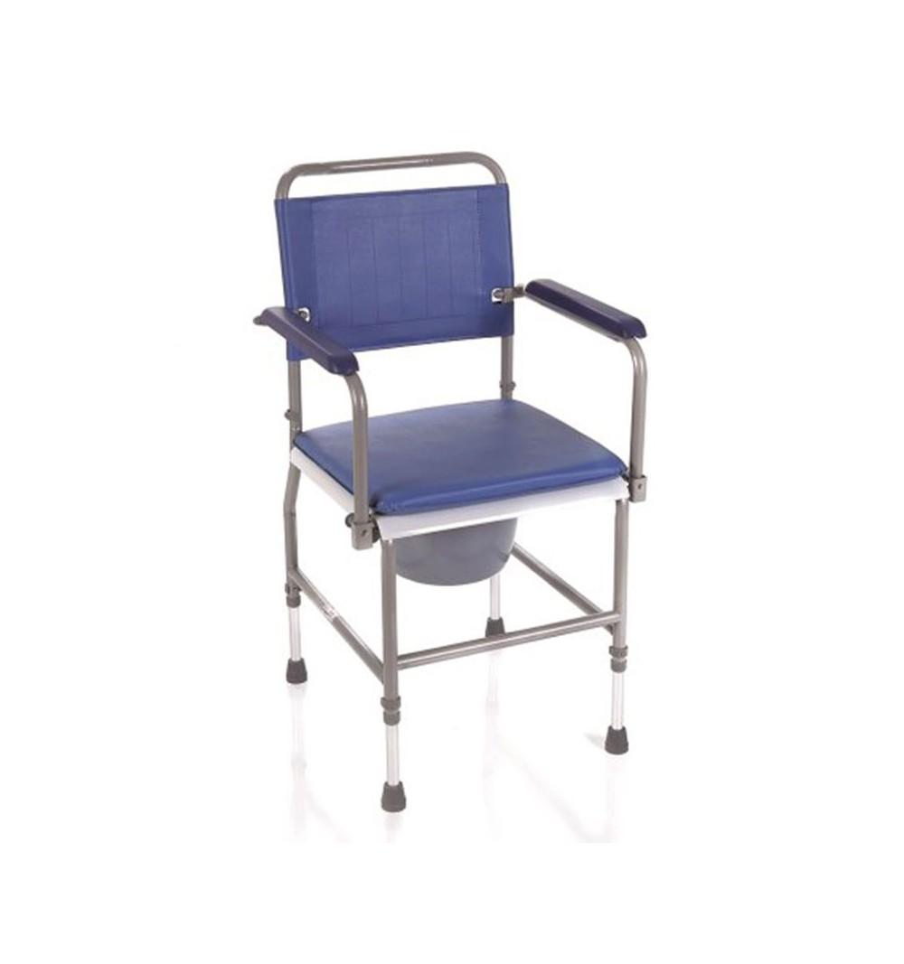 Scaun toaleta, inaltime ajustabila, otel cromat - RC200-45