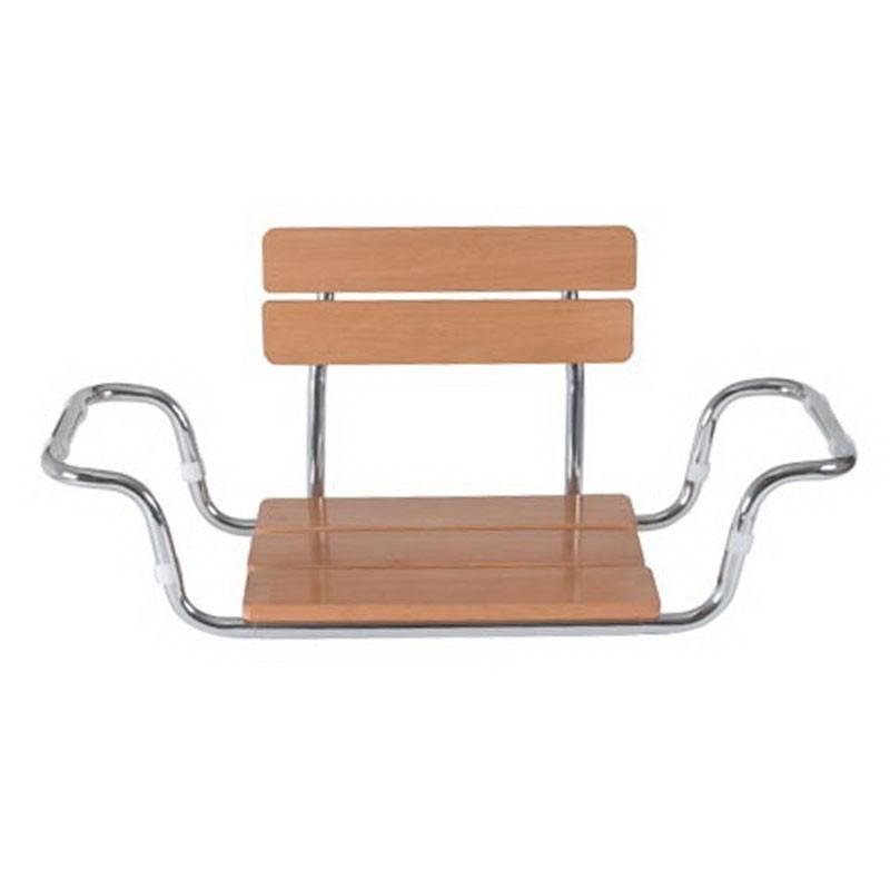 Scaun din lemn pentru vana cu spatar - RS922