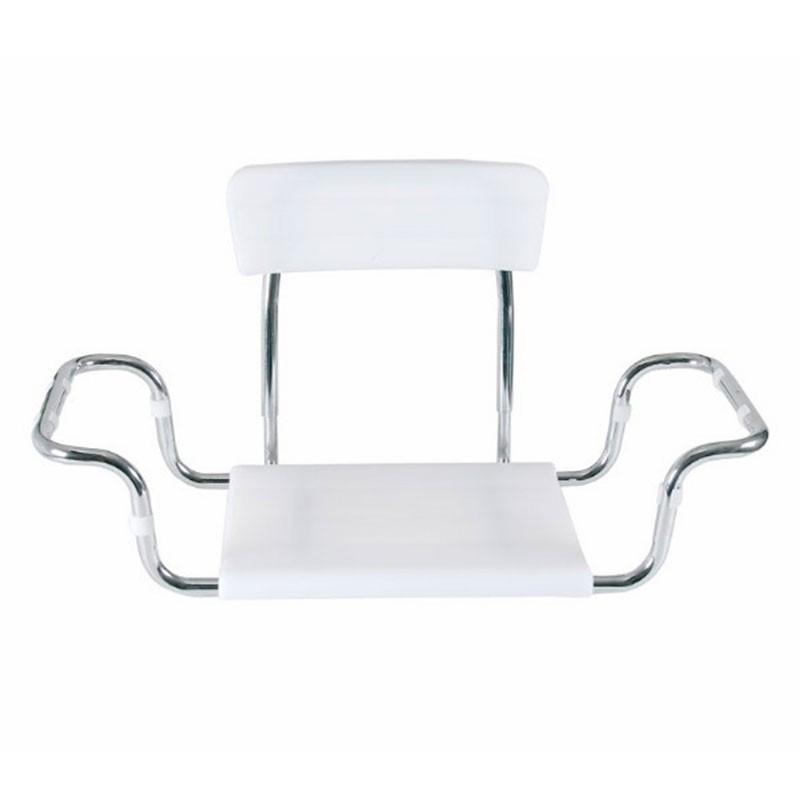 Scaun din plastic cu spatar pentru vana - RS925