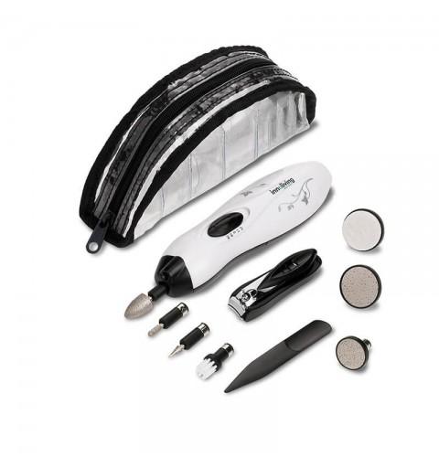 Set complet manichiura pedichiura pentru voiaj INN-031, 9 accesorii