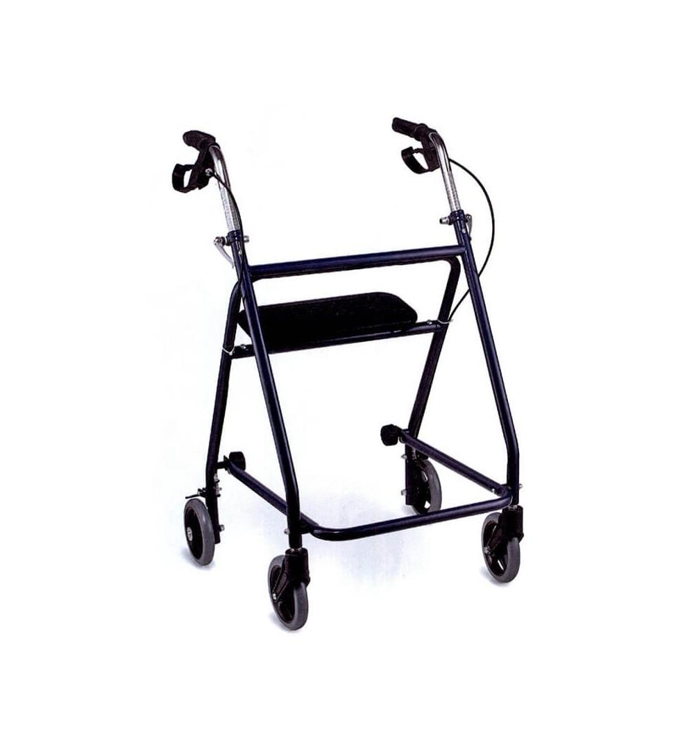 Rolator pliabil cu 4 roti, frana si scaun - FS9621